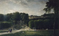 The Park At Saint-Cloud, 1865 Fine Art Print