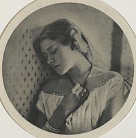Ellen Terry At The Age Of Sixteen, 1864 Fine Art Print