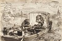 Luncheon on the boat (Dejeuner en bateau) Fine Art Print