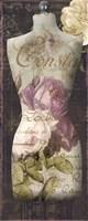 Paris Seamstress III Framed Print