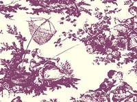 Toile Fabrics VII Framed Print