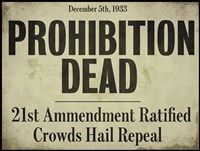 Prohibition Fine Art Print