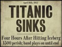 Titanic Framed Print