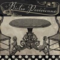 Bistro Parisienne I Framed Print