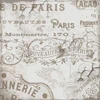 Bon Mots IV Framed Print