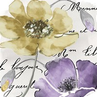 Fleurs de France II Framed Print