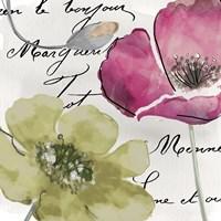 Fleurs de France IV Framed Print