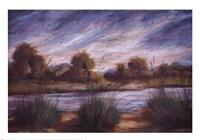 Pastel Landscape I Fine Art Print