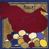 Poulets II Framed Print