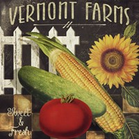 Vermont Farms VII Fine Art Print