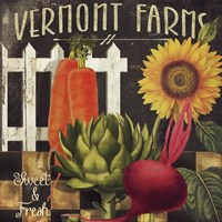 Vermont Farms VIII Fine Art Print