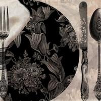 Victorian Table I Framed Print