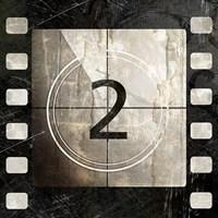 Vintage Countdown II Framed Print