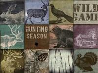 Cabela hunting season 12 patch Framed Print