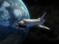 Space Shuttle Fine Art Print