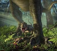 Baby Tyrannosaurus Rex Fine Art Print