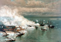The Battle of Mobile Bay Fine Art Print