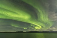 Aurora Borealis over Fish Lake Fine Art Print