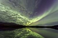 Aurora Borealis over Schwatka Lake Fine Art Print