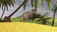 Ceratosaurus Hunting Fine Art Print