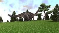 Dicraeosaurus Fine Art Print