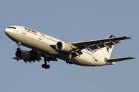 Airbus A310 of Iran Air Fine Art Print