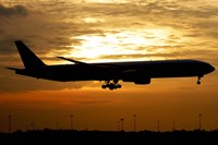 Pakistan International Airlines Boeing 777 Fine Art Print