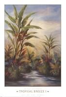 Tropical Breeze I Fine Art Print