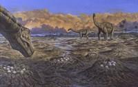 Titanosaur Fine Art Print