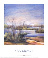 Sea Grass I Framed Print