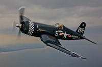 A Vought F4U-4 Corsair Fine Art Print