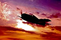 A Grumman F6F Hellcat Fine Art Print