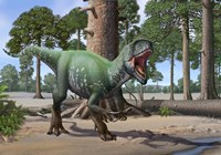 A Megaraptor Fine Art Print