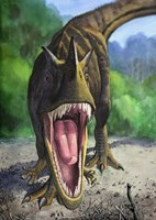 Ceratosaurus Dentisulcatus Fine Art Print
