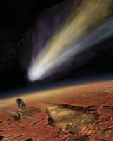 2014 Comet over Aromatum, Mars Fine Art Print