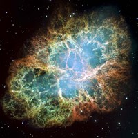 The Crab Nebula Fine Art Print