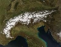 The Alps Fine Art Print