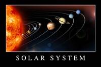 Solar System Poster Fine Art Print