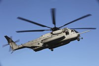 US Marine Corps CH-53 Sea Stallion Fine Art Print