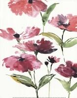 Tickled Pink Posies Fine Art Print