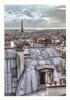 Paris Rooftops Fine Art Print