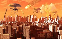 War of the Worlds Fine Art Print