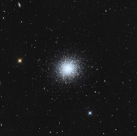 Messier 13, The Great Globular Cluster in Hercules Fine Art Print