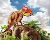 Leptoceratops Fine Art Print
