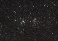 Double Cluster in Perseus Fine Art Print