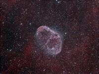 NGC 6888, the Crescent Nebula Fine Art Print