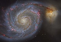 The Whirlpool Galaxy Fine Art Print