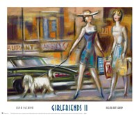 Girlfriends II Framed Print