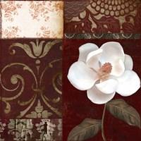 Flores Blancas IV Framed Print