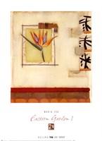 Eastern Garden I Fine Art Print